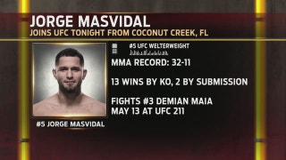 Jorge Masvidal previews his UFC 211 fight vs. Demian Maia | UFC TONIGHT