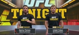 Rear Naked Choke demo with Urijah Faber and Kenny Florian | UFC TONIGHT