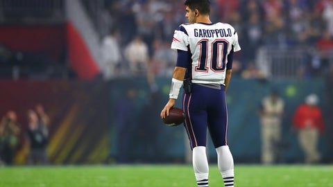 Garoppolo isn't actually untouchable and the Pats prefer him gone