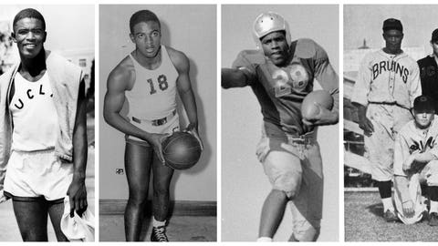 The NCAA reminds us that Robinson was a 4-sport athlete at UCLA