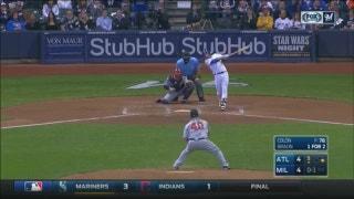 WATCH: Braun hits his 7th homer of the season