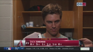 Greinke: 'You make a mistake, it's gonna get hit'