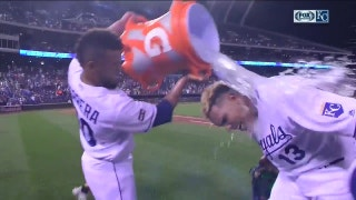 Salvy gets splashed: 'That'll never happen again'