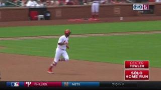 WATCH: Dexter Fowler hits first two homers as a Cardinal