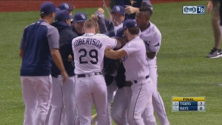 HIGHLIGHT: Logan Morrison's walk-off 2-run RBI