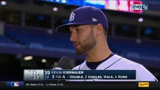 Kevin Kiermaier: 'You gotta play nine innings and that's what we did today'