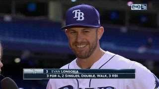 Evan Longoria: 'Just never quit'