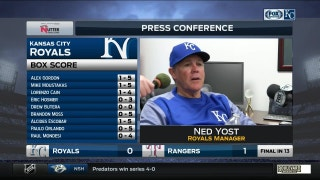 Yost on Royals offense: 'You have to ... hope it turns quick'