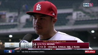 Wong on Wainwright: 'When he's doing good, we're all doing good'