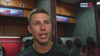 Lamb: 'Other teams know' D-backs can score at anytime