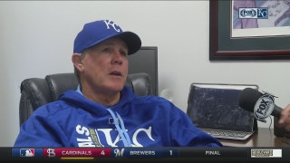 Yost on Royals' offense: 'It's been a bit of a struggle here of late'