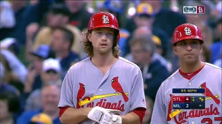 WATCH: Leake drives in two with bases-loaded single to center