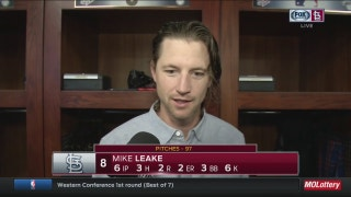 Leake drives in two runs in Cardinals win over Brewers