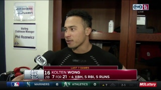 Wong feeling more confident after contributing on offense and defense