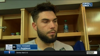 Hosmer frustrated with Royals' lack of offense, wins