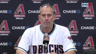 Lovullo: D-backs played a 'complete offensive' game to back Corbin