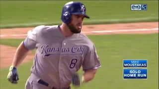 WATCH: Moss, Moustakas go deep in ninth inning