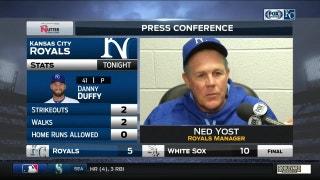 Yost on balk call: 'It wasn't a balk'
