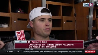 Díaz says there's 'no excuses' for the Cardinals' errors