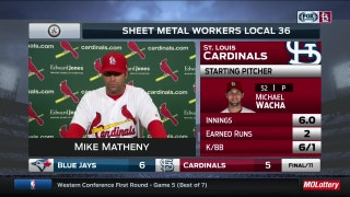 Matheny: 'Same things' need to be improved by Cardinals