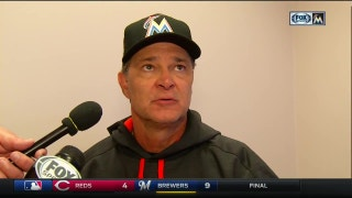Don Mattingly shares his thoughts on Wednesday's loss to the Phillies