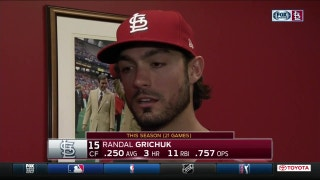 Grichuk didn't envision a hero role for himself against Jays