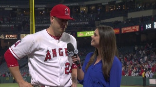 Cron's RBI single secures Angels fourth-straight win