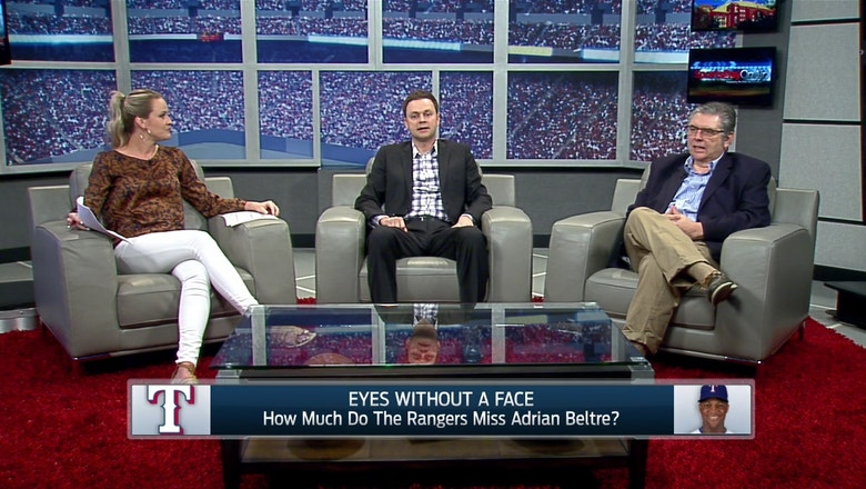 SportsDay OnAir: How much do Rangers miss Beltre?