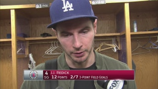 Redick after loss to Jazz: They made tough shots, we didn't