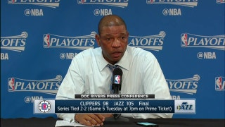 Doc Rivers says his team missed a 'great opportunity'