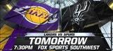 Spurs Live: Spurs vs. Lakers