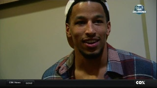Andre Roberson on game 82, getting ready for Houston