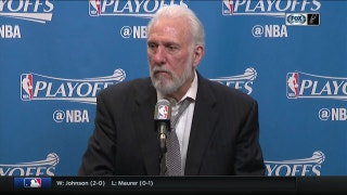 Gregg Popovich on taking 2-0 lead over Memphis