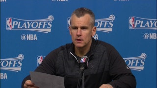 Billy Donovan on sitting Westbrook late in 3rd quarter