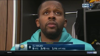Pacers' Miles: 'You wanna go home or not? It's pretty simple'