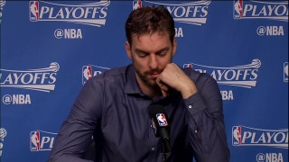 Pau Gasol on momentum going into 2nd half of Game 3