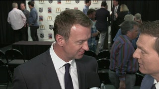 Kings GM Rob Blake talks about the hiring of new head coach John Stevens