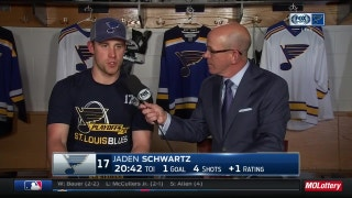 Schwartz: Blues were building momentum during late push