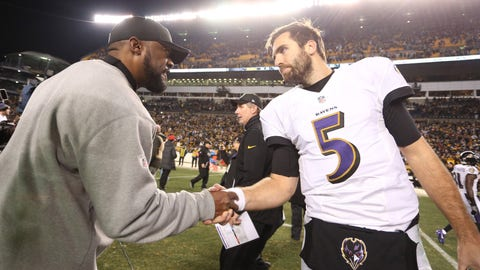 December 10: Baltimore Ravens at Pittsburgh Steelers, 8:30 p.m. ET