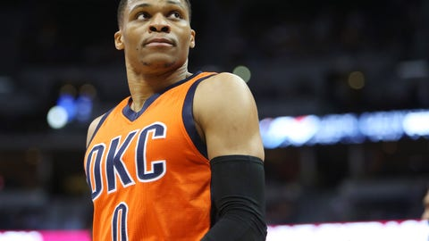 When Westbrook shoots fewer shots, the Thunder are better