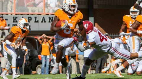 67. New Orleans Saints (via trade with San Francisco 49ers): Alvin Kamara, RB, Tennessee