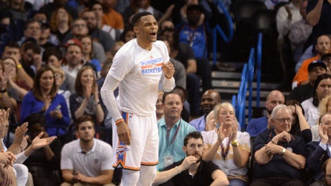 Russell Westbrook and the Thunder are maxing out with their level of talent