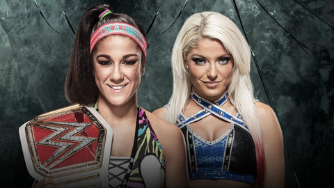 Bayley vs. Alexa Bliss for the Raw Women's Championship