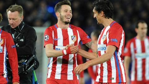MF: Saul Niguez, Atletico Madrid