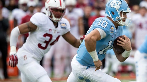 Trubisky's rise is the most shocking in NFL Draft history
