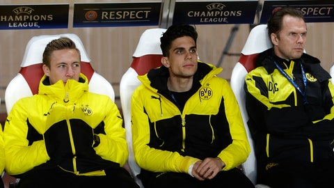 It was nice to see Marc Bartra back