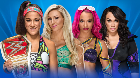 Bayley vs. Charlotte vs. Sasha Banks vs. Nia Jax in a Fatal Four Way elimination match for the Raw Women's Championship