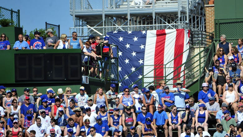 Chicago Cubs History: Rick Monday Saves Old Glory