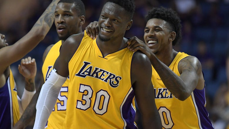 Los Angeles Lakers 2016-17 Regular Season Team Awards