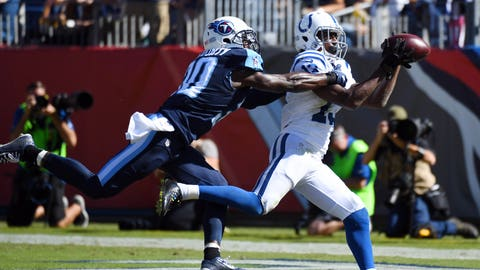 October 16: Indianapolis Colts at Tennessee Titans, 8:30 p.m. ET